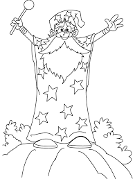 Wizard Coloring Pages The Wizard Outline Picture Of The Wizard Wizard Of Oz Coloring Pages