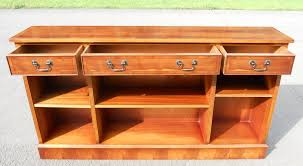 narrow wood bookcase yew wood narrow long open bookcase