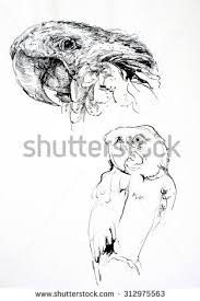 woman pencil sketch stock illustration 267992639 shutterstock