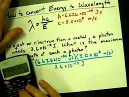 energy of light calculator how to convert energy to wavelength youtube