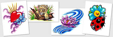 tattoo designs u0026 symbols lotus love lion ladybug tattoos