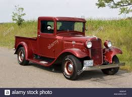 Vintage Ford Truck Bumpers - 1934 ford pick up truck model b stock photo royalty free image