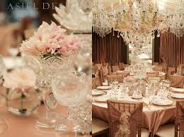 vintage glam wedding wedding reception is all about crystals
