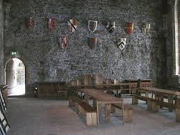 medieval house interior caerphilly castle you can rent this hall for weddings there