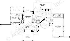 tullamaine french country house plan luxury house plan