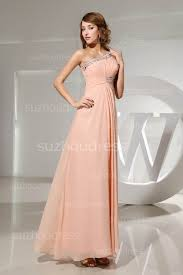 light pink prom dresses 2017 one shoulder elegant sleeveless a