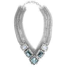 collar necklace images Fahrenheit mesh collar necklace pomegranate la jolla jpg