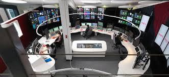 Control Room Desk Custom Control Room Furniture Technical Furniture Broadcast