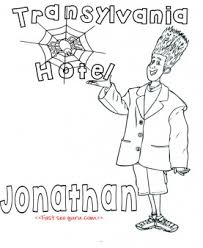 printable hotel transylvania 2 jonathan coloring pages printable