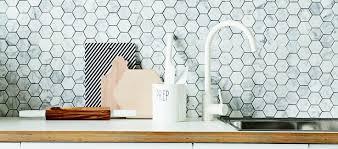 hexagon tile kitchen backsplash marble hexagon tile backsplash future kitchen ideas