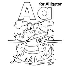letter alligator coloring pages coloring pages ideas