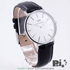 Jam Tangan Daniel Wellington Ori Bm jual daniel wellington classic sheffield 40mm silver black leather