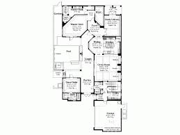 Average Square Footage Of A 4 Bedroom House Mediterranean House Plan With 3031 Square Feet And 4 Bedrooms From