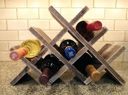 wine rack diy wine rack plan diy diamond wine rack plans img