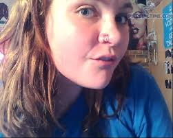 pink nose rings images 67 awesome double nose piercings jpg