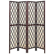 Moroccan Room Divider Amazon Com Deco 79 Room Dividers Wood Screen Panel 72 60 Inch