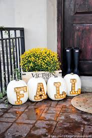 Fall Harvest Outdoor Decorating Ideas - 37 fall porch decorating ideas ways to decorate your porch for fall