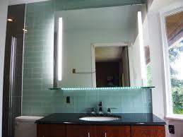 Illuminated Mirrored Bathroom Cabinets Bathroom Makeup Mirror With Lighted Bathroom Mirror