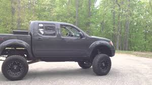 lifted nissan car 2011 nissan frontier lifted youtube