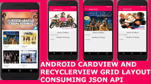 grid layout for android android cardview and recyclerview grid layout consuming json api pt1