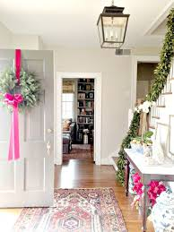 Modern Christmas Home Decor Best 25 Christmas Entryway Ideas On Pinterest French Country