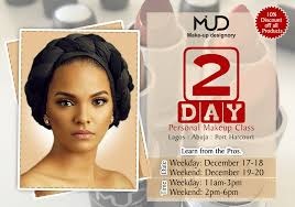 make up classes for mud academy two day personal makeup class in lagos abuja port