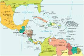 political map of central america and the caribbean best photos of map of central america central america countries
