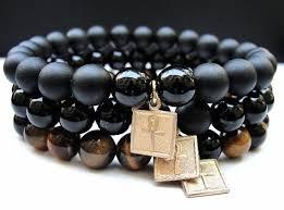 black bead bracelet men images Cool men 39 s bracelets to wear with a watch men health india jpg