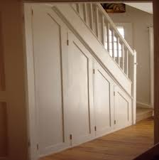 how to organize a closet under the stairs home design ideas