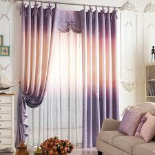 Ombre Window Curtains High Quality Linen Cotton Curtains In Ombre Color
