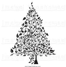 christmas black and white clipart china cps