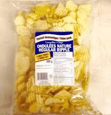 ripple chips chips regular ripple 350g biscuiterie oscar