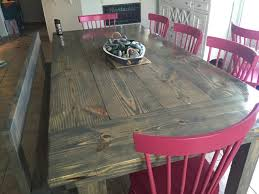 view our gallery lots of rustic farm tables jesus tables