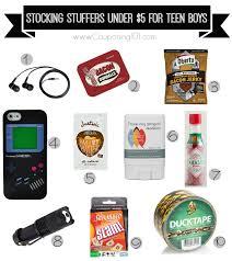 10 stocking stuffer ideas for teen boys for 5 or less teen boys