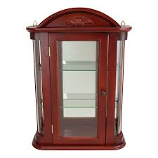 curio cabinet living room display cabinets grafill us hanging