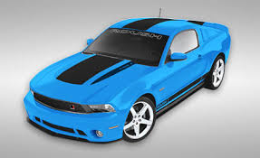 roush introduces models supercharger kit for 2011 mustang gt