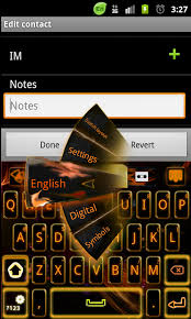 keyboard themes for android go keyboard orange theme free android app android freeware