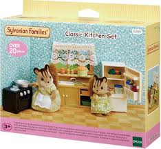 sylvanian families cuisine sylvanian families set cuisine 5289