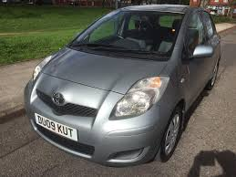 toyota dealer services 2009 toyota yaris tr vvt i 1 3 petrol one owner from new full