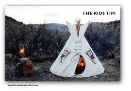nomadics tipi makers kids tipi