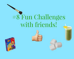 8 fun challenges to do with friends youtube