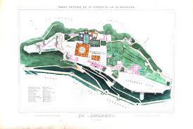 Architectural Design Plans by Design U2013 Architectural U2013 Alahambra Fort Plans Vintage Printable