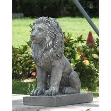 lion statues indoor lion statues wayfair