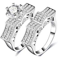 rings solitaire designs images Temego white gold designer engagement rings matching jpg