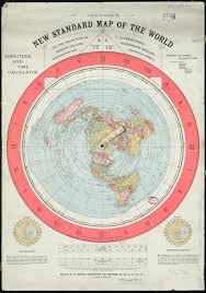 Accurate Map Of The World Gleason U0027s New Standard Map Of The World