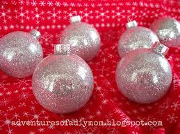 diy glitter ornaments adventures of a diy