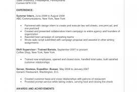 Sample Resume Restaurant by Busboy Resume Sample Resume Busboy Position Busboy Resume