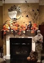 Halloween Wedding Decorations by Halloween Mantel Ideas Witch Halloween Decorations Halloween