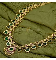 buy traditinal 1 gram gold green palakka mala kollam supreme