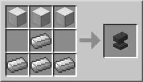 Enchanting Table Recipe How To Craft On An Anvil In Minecraft Dummies